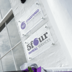360 Chartered Accountants in Hull - Office Signs